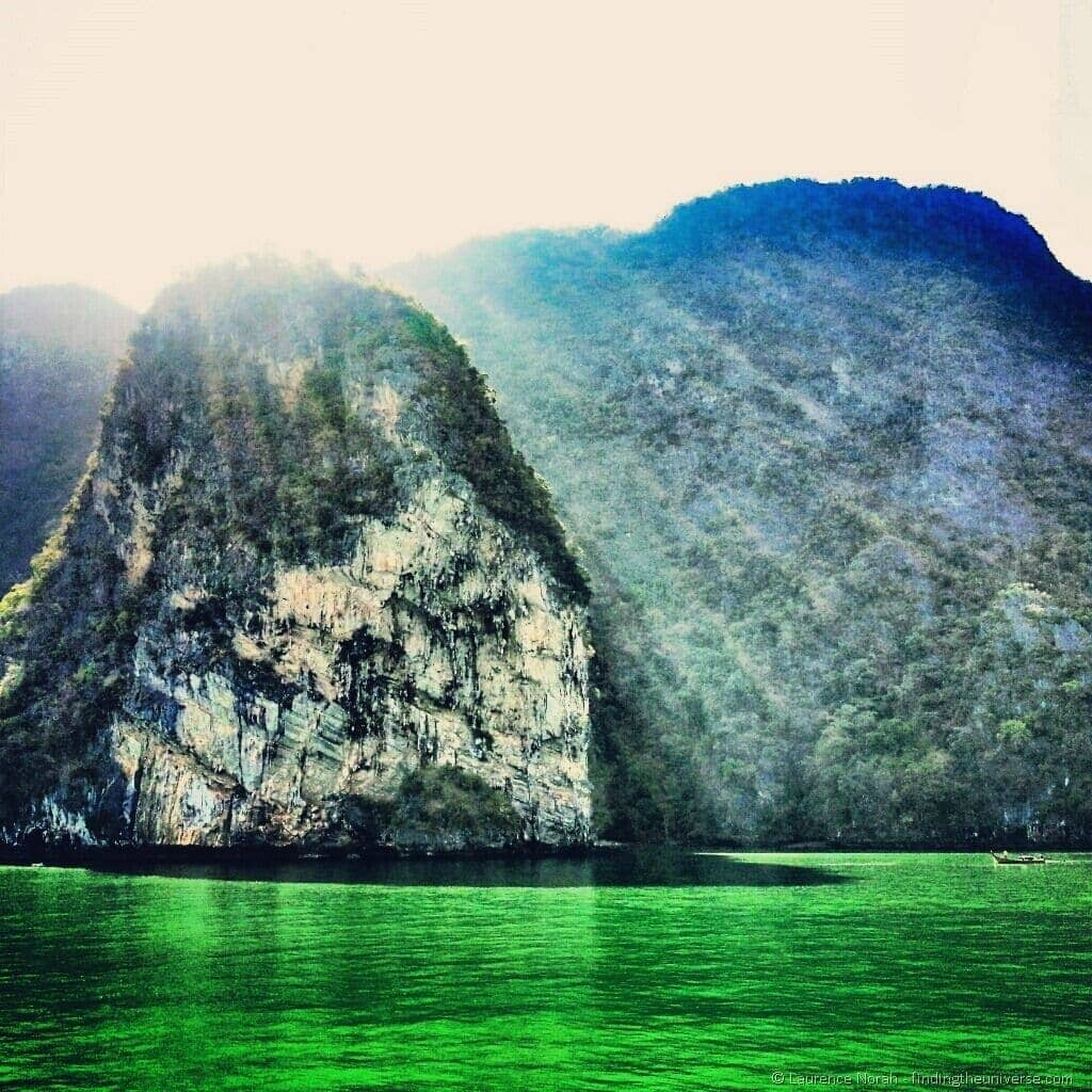 islands of Phang Nga bay Thailand