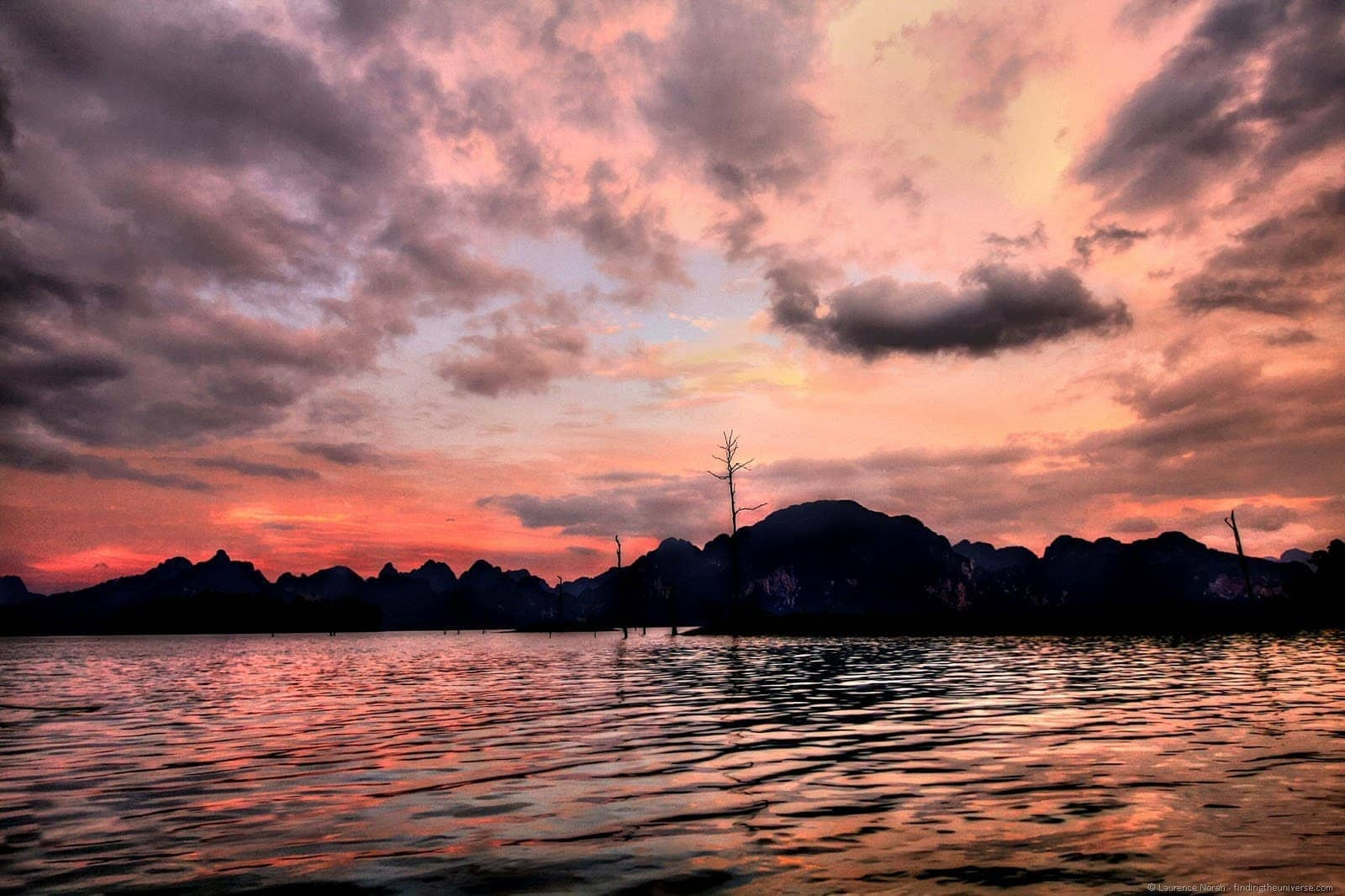 Khao Sok sunset