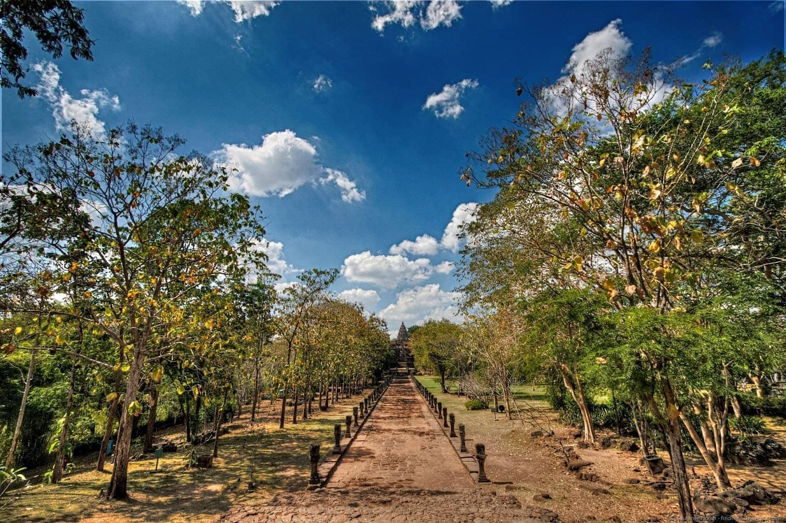 Phanom Rung Entrance walkway Thailand 3