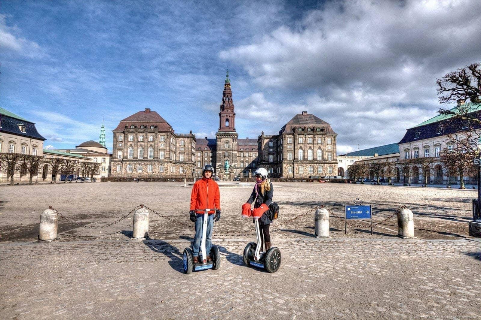 Vera and Sam Segway tour Copenhagen