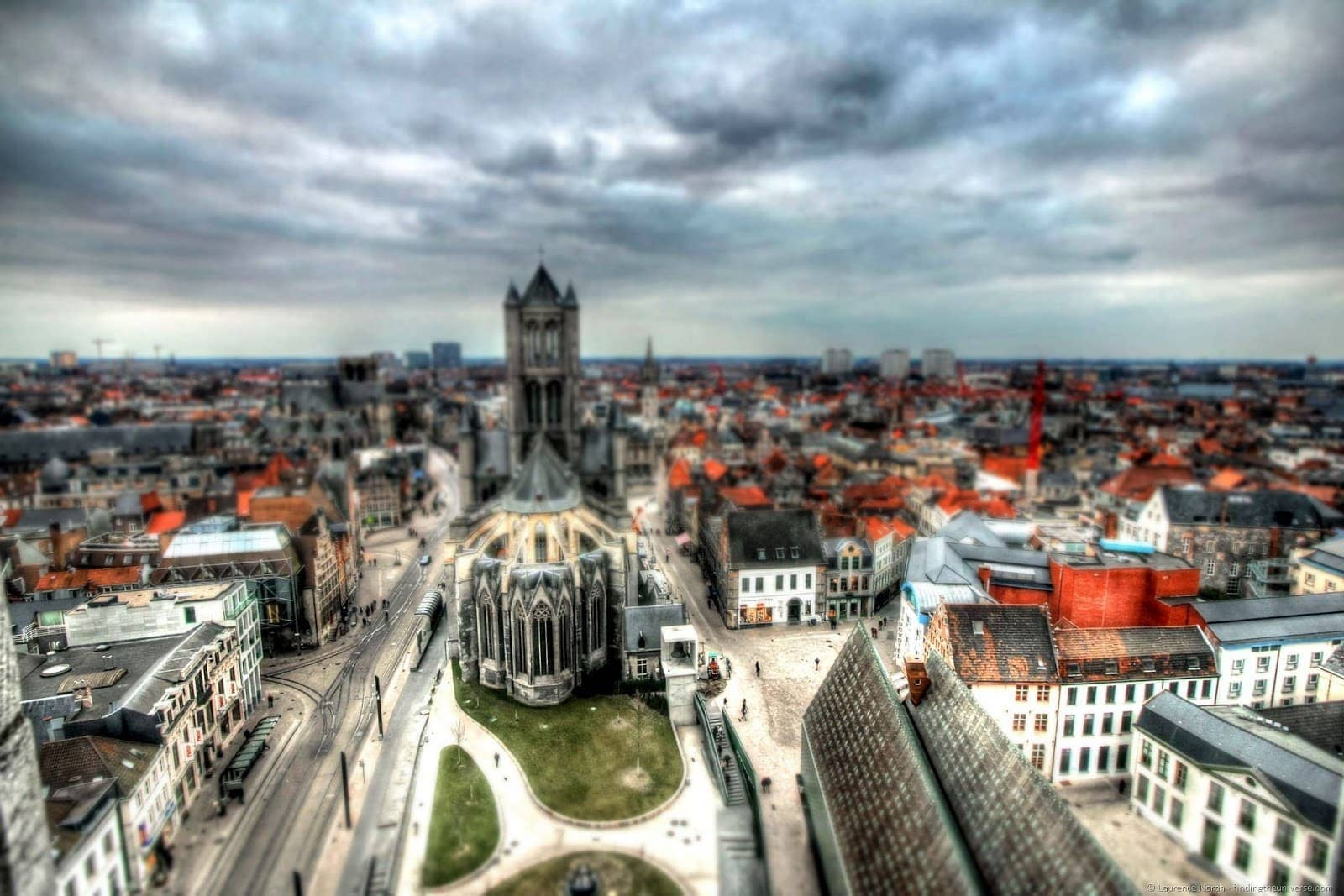 View from Ghent Belfry toy1