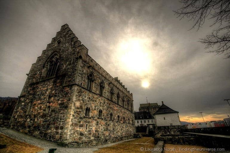 Bergen castle Norway