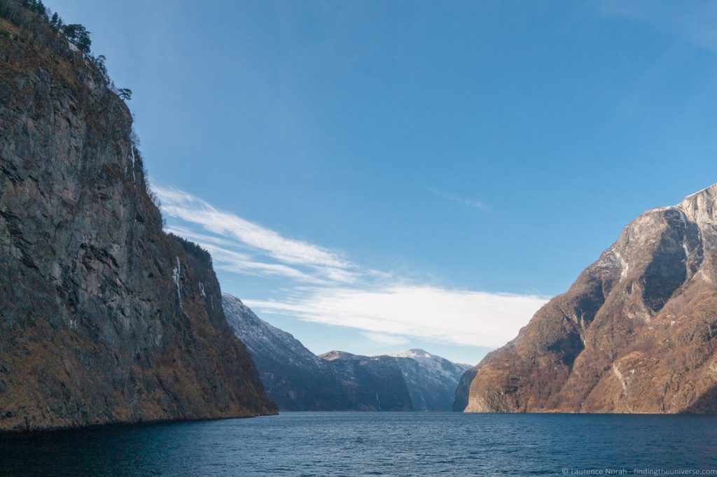 Bergen fjord tour