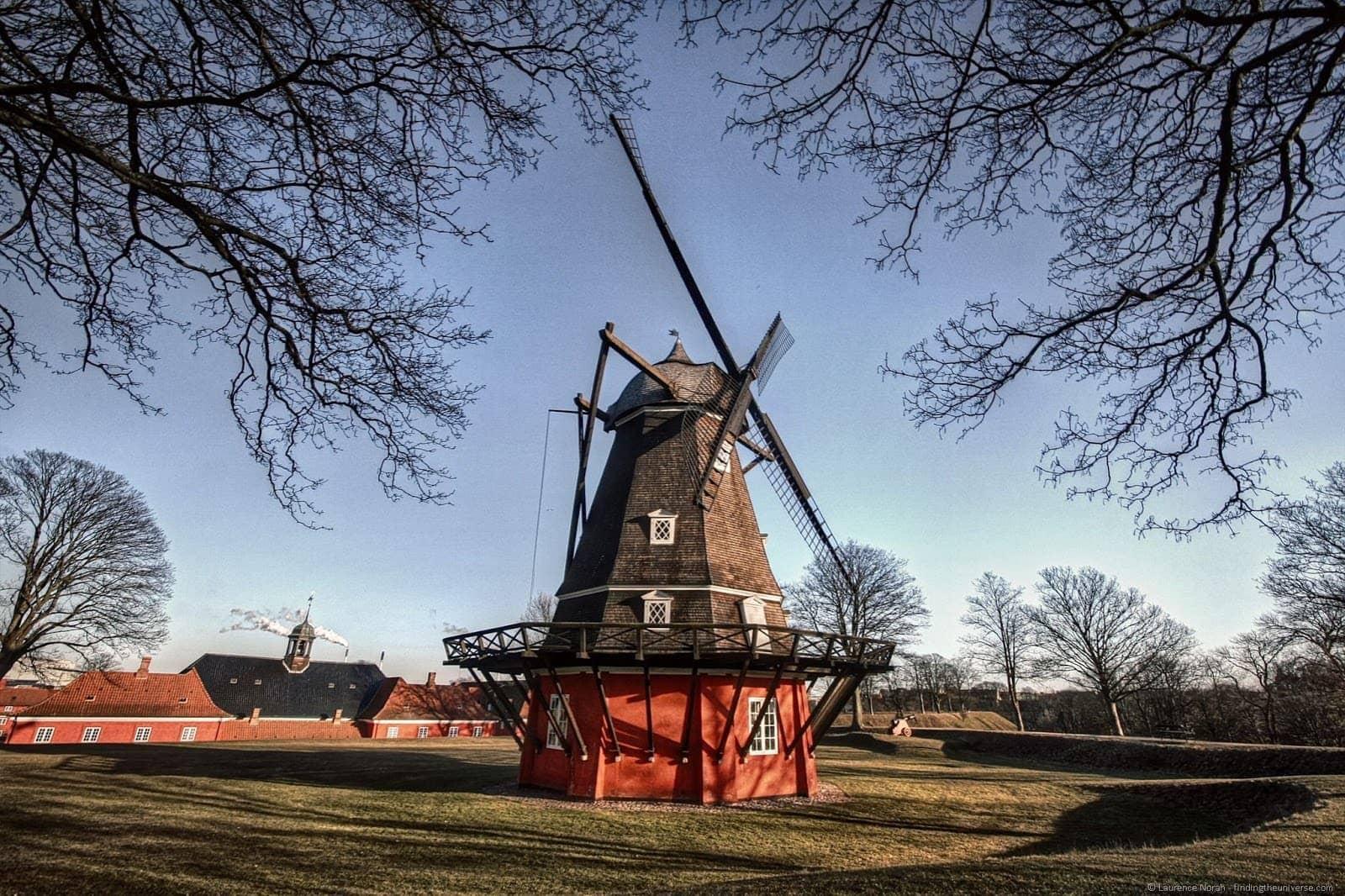 Windmill Copenhagen Kastellet 2
