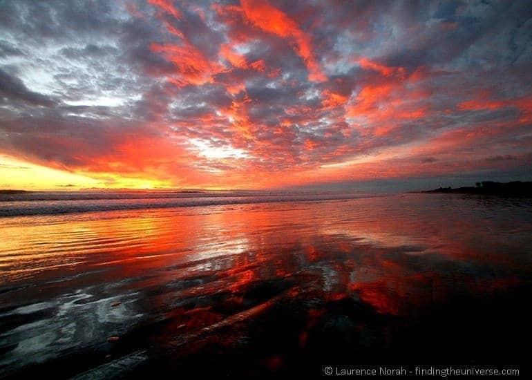 Sunset at Muriwai
