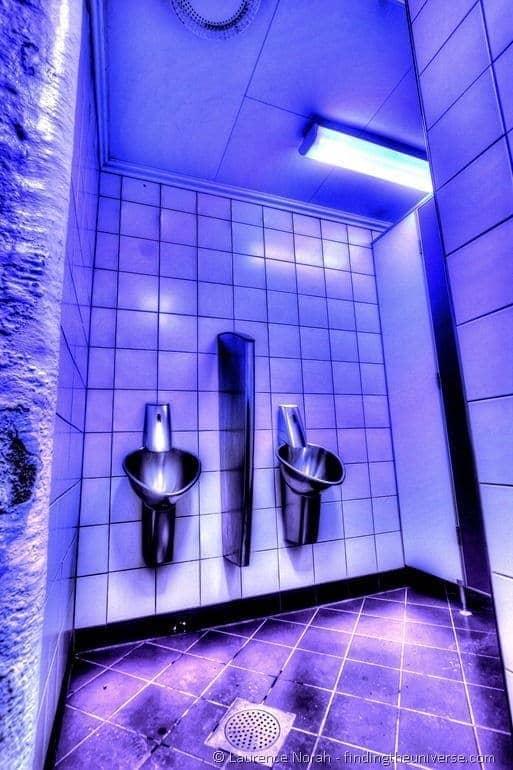 Toilet by UV