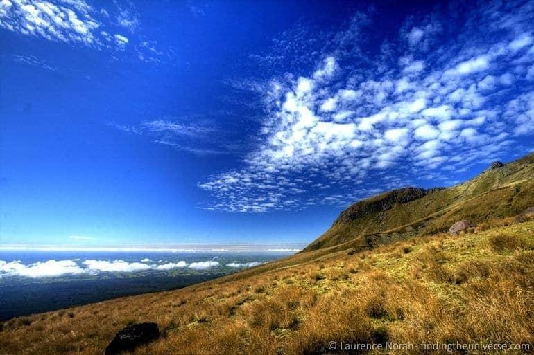 View from Mt Taranaki scaled