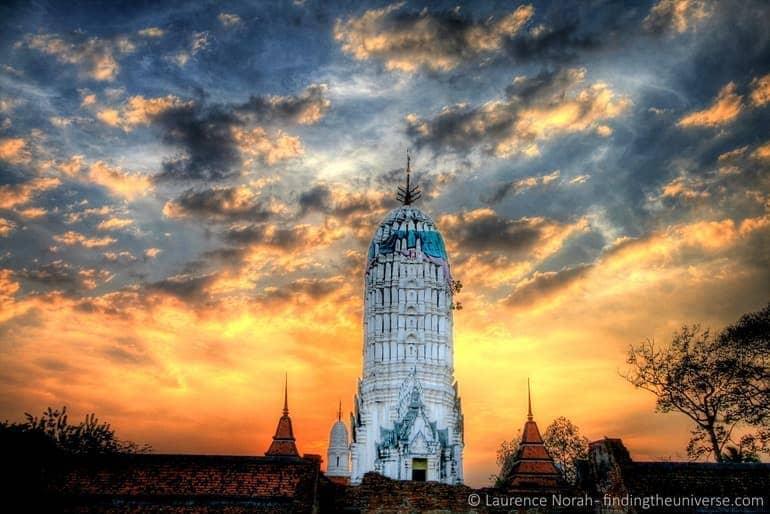 Sunset Ayutthaya scaled