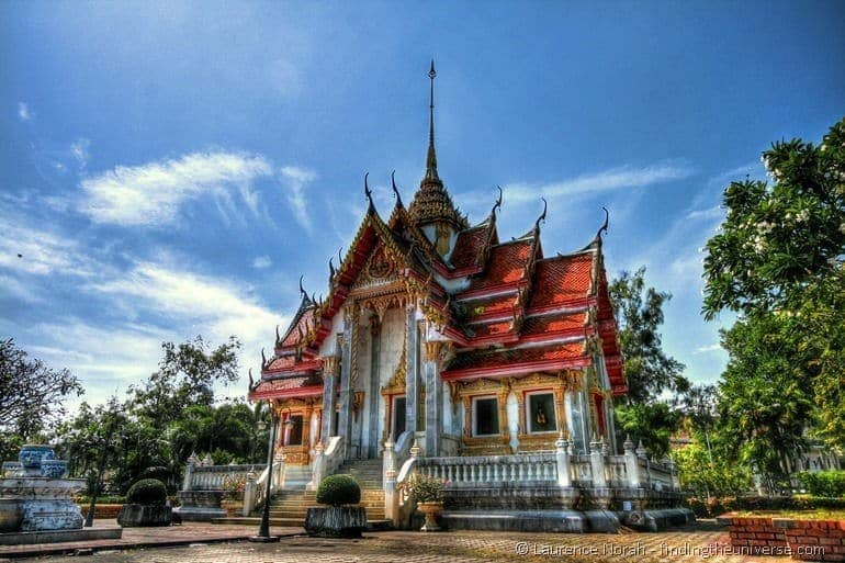 Temple songkhla thailand