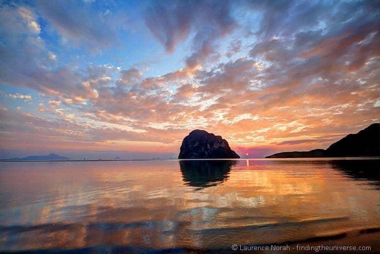 Trang sunset