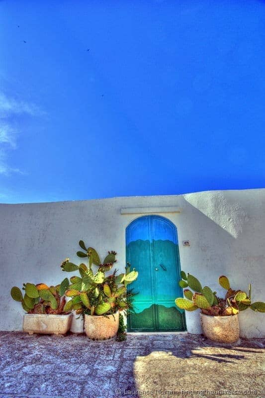 Cactus Doorway Ostuni