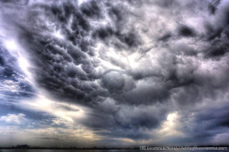 Mammatus Clouds Brindisi sailing trip
