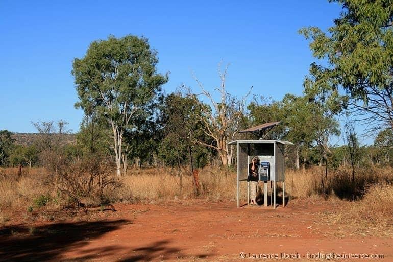 Phone box australian outback 2