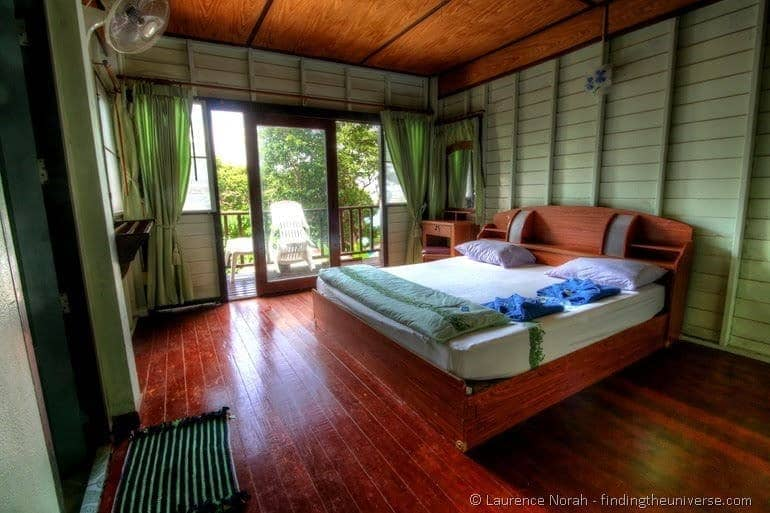 Similan Islands AC bungalow accommodation cabin