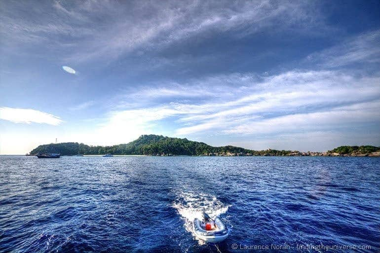 Similan islands boat