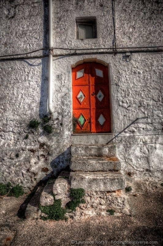 red Doorway Ostuni