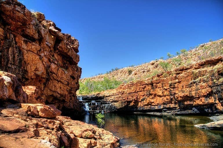 Bell Gorge Gibb River Road waterhole