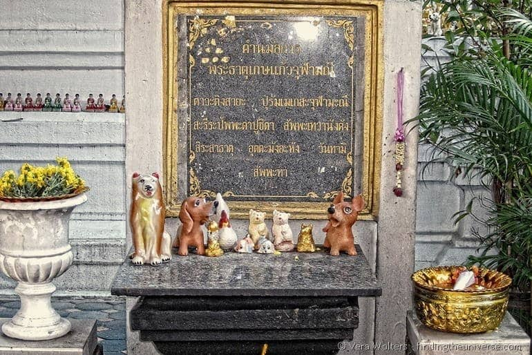Dog shrine Thailand