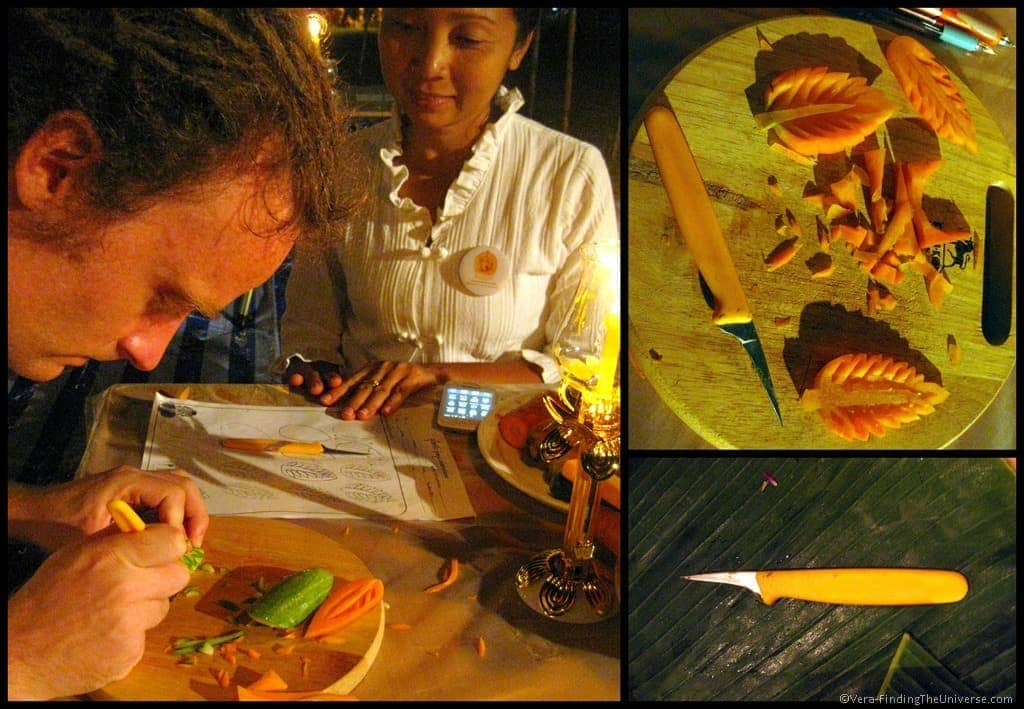 Fruit Carving Workshop