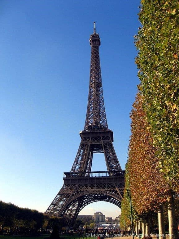 Eiffel Tower Paris Autumn