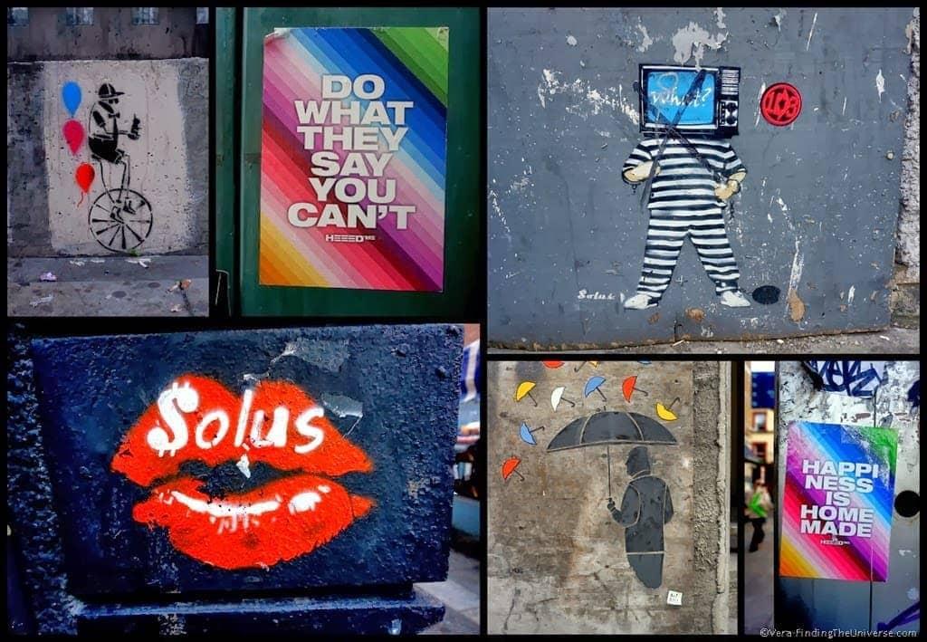Solus, HEED & Co - Street Art Dublin