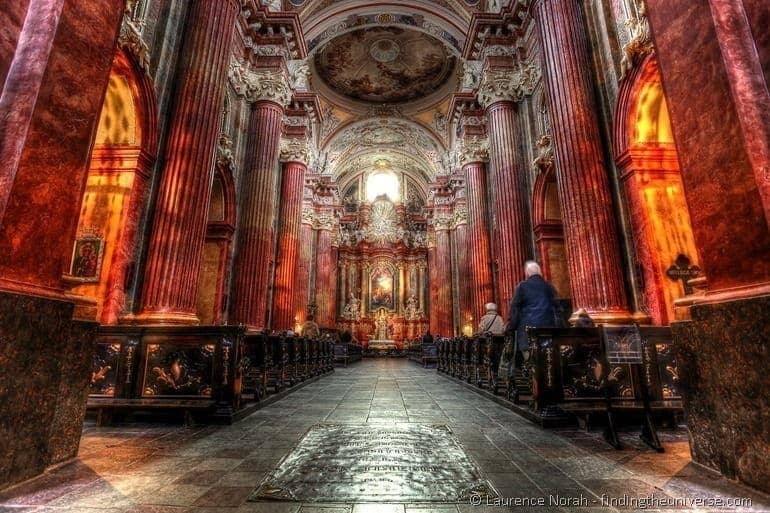 Things to do in Poznan - Poznan church interior PPS
