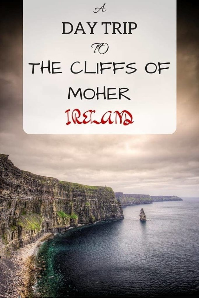 Visiting the Cliffs of Moher as part of a daytrip from Dublin, Ireland