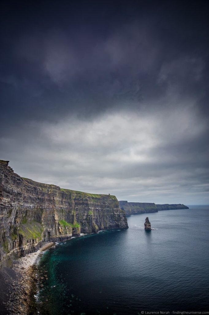 Cliffs of Moher from Dublin