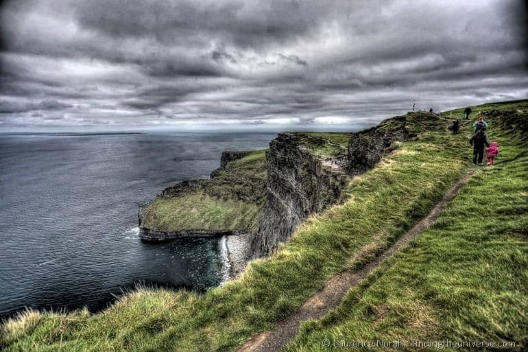 Visiting the Cliffs of Moher from Dublin