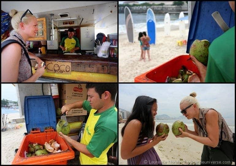 Coconut copacabana collage