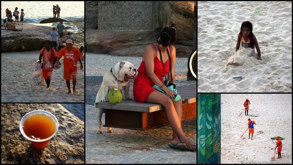 Ipanema Beach Collage