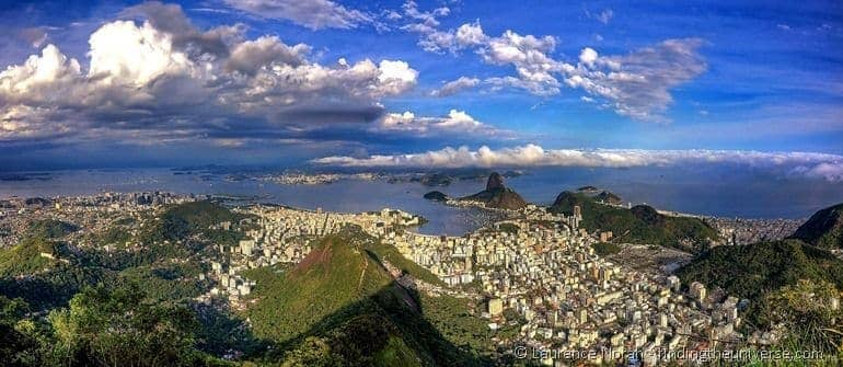 Rio from above panoramic scaled
