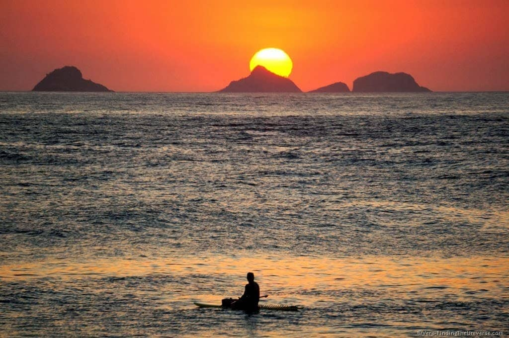 Sunset Ipanema Beach