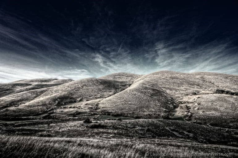 hills of abruzzo infrared