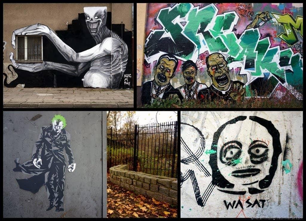 Scary Street Art Poznan