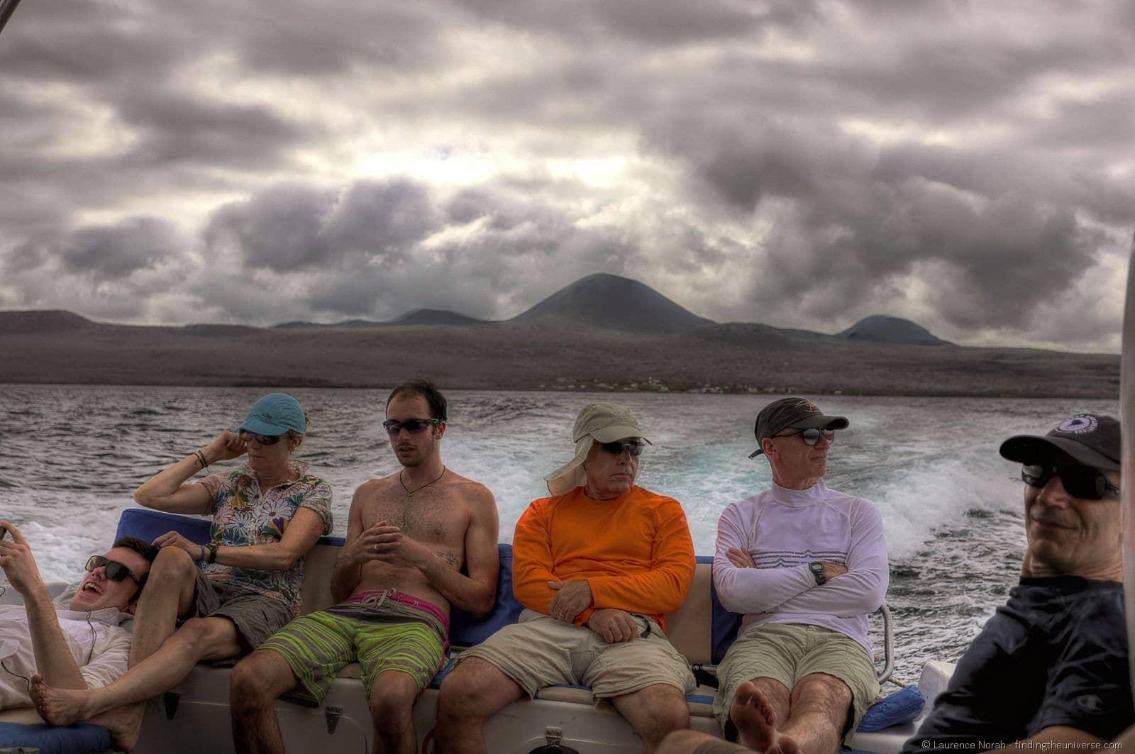 Galapagos Boat ride