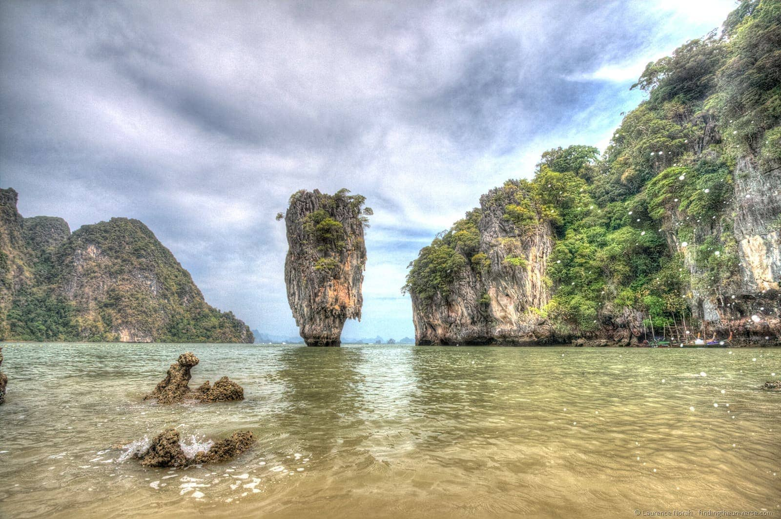 James Bond Ko Tapu islet Phang Nga Thailand