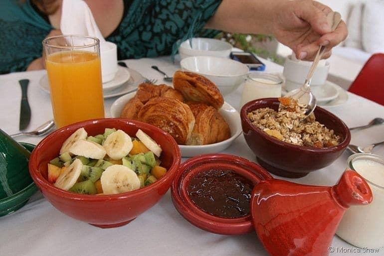 breakfast at riad tizwa