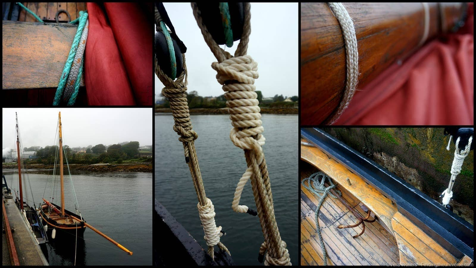 Galway Hooker Collage