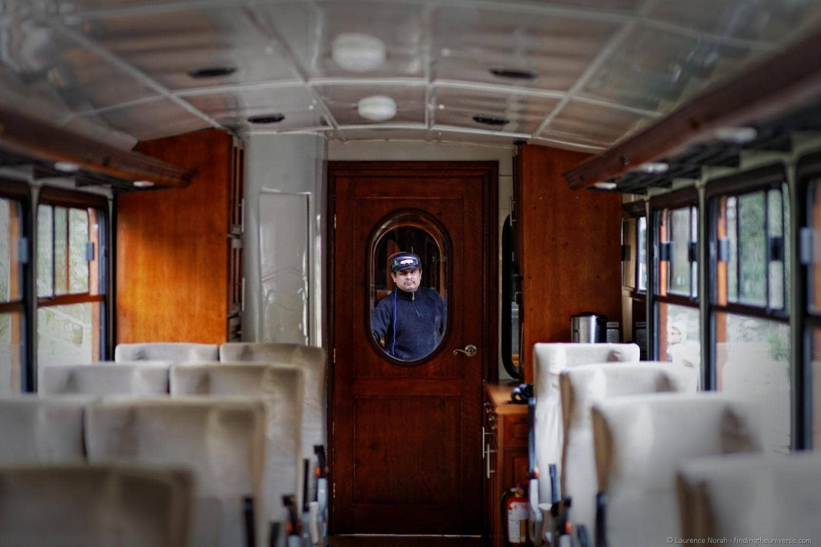Train guard ecuador nariz diablo devil nose interior carriage