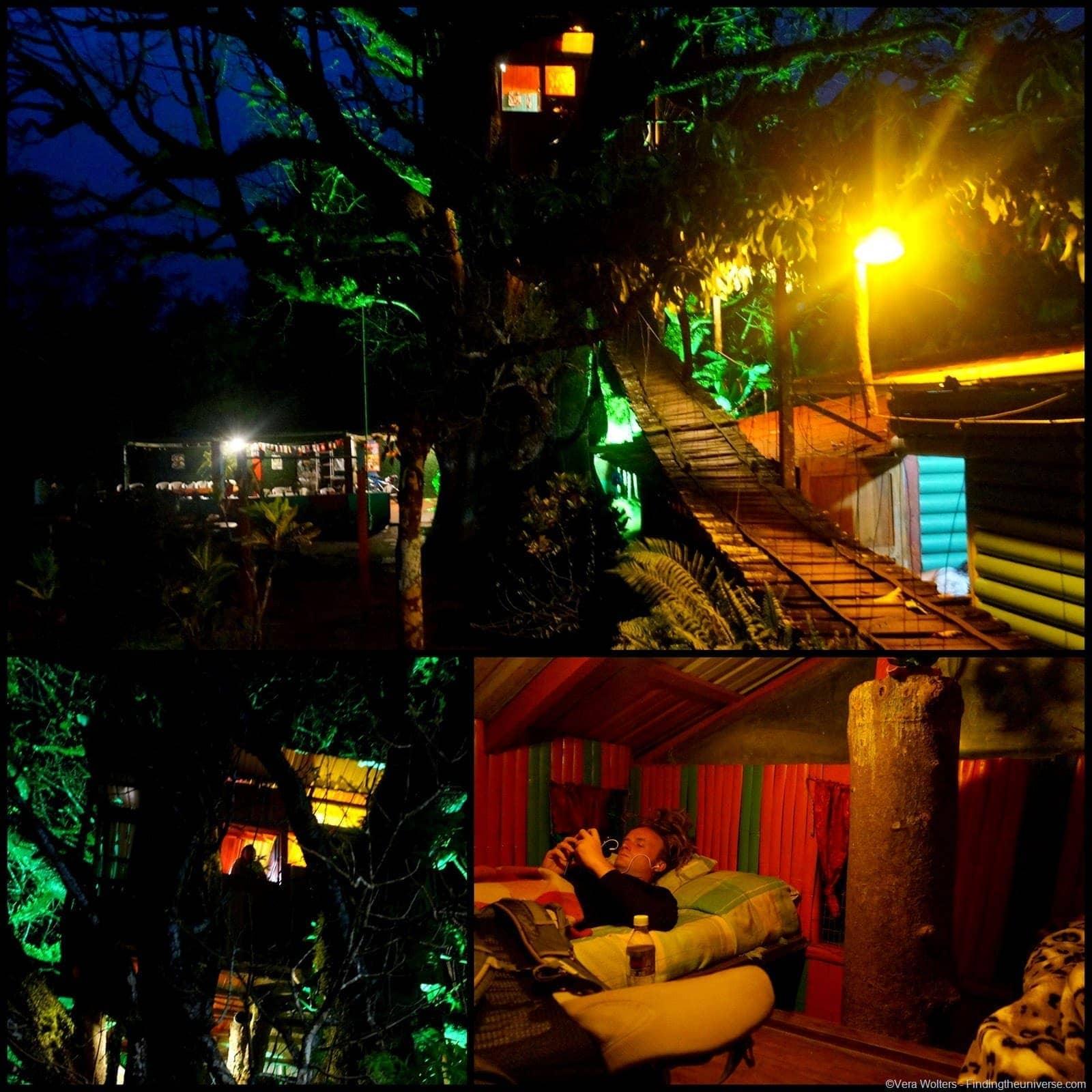Tree House Sleepover - El Ceibo, San Cristobal, Galapagos