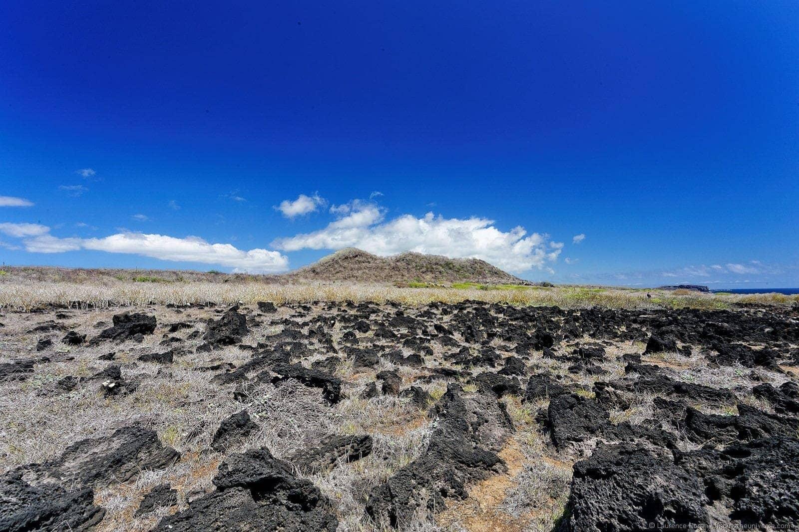 La loberia cliff top walk st cristobal island galapagos