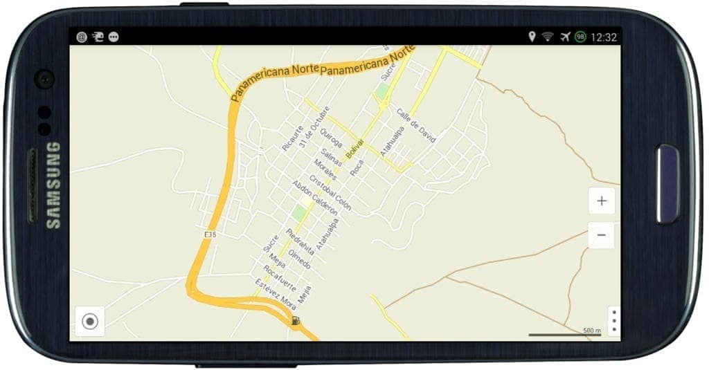 galaxys3 maps with me screenshot