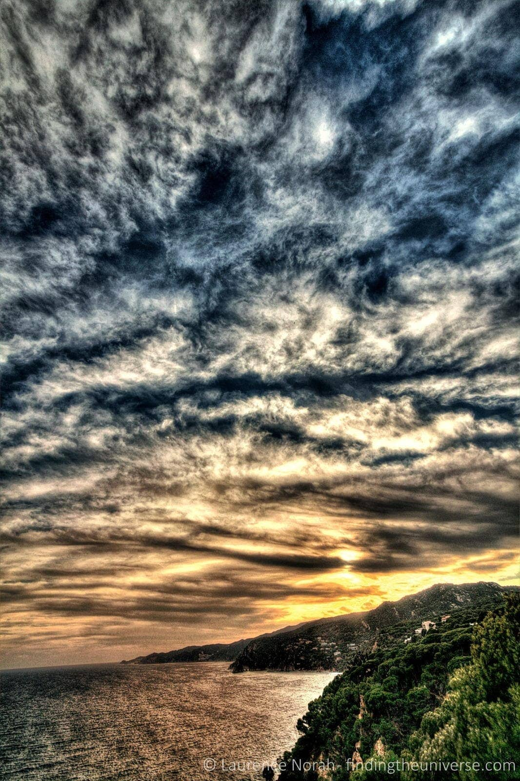 Costa brava sky sunset scaled