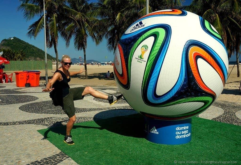 Copacabana Beach Football World Cup