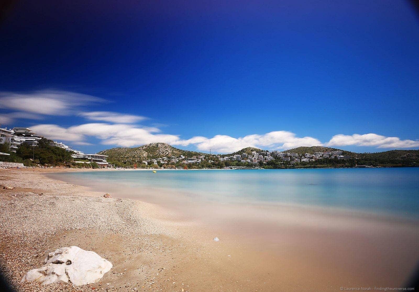 beach Vougliameni athens