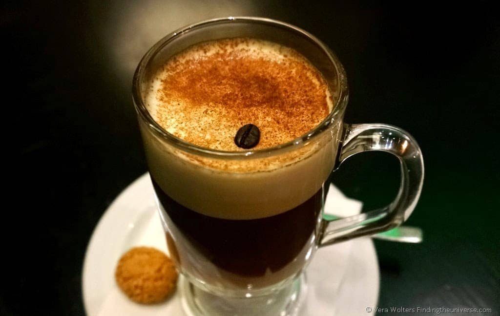 Mmmh... Irish Coffee at the Radisson Blu Hotel&Spa, Galway, Ireland