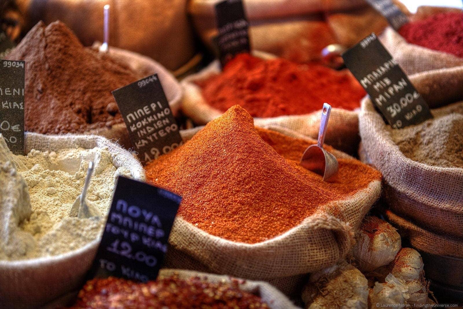 athens spice market