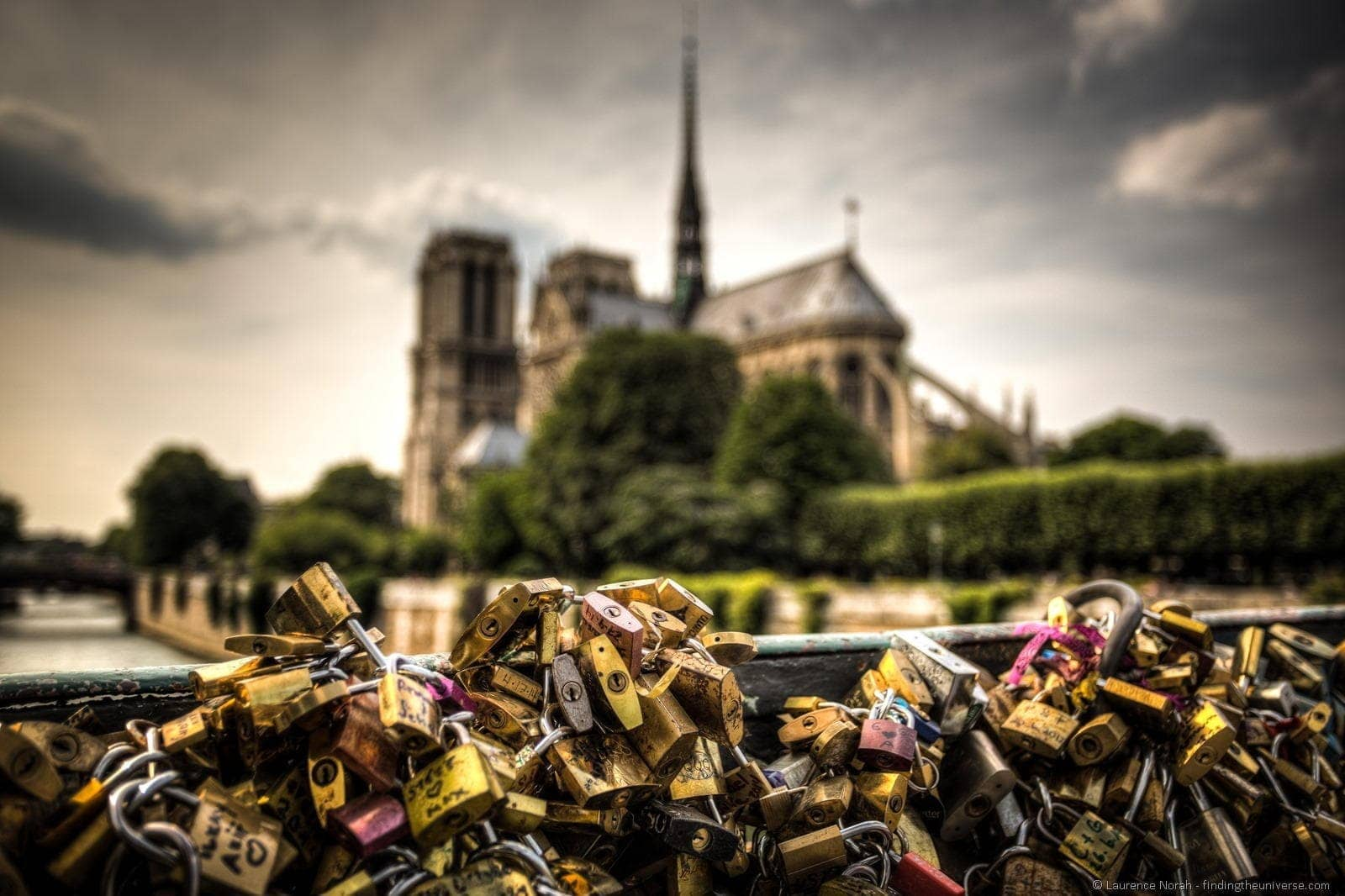 Love locks Notre Dame Paris