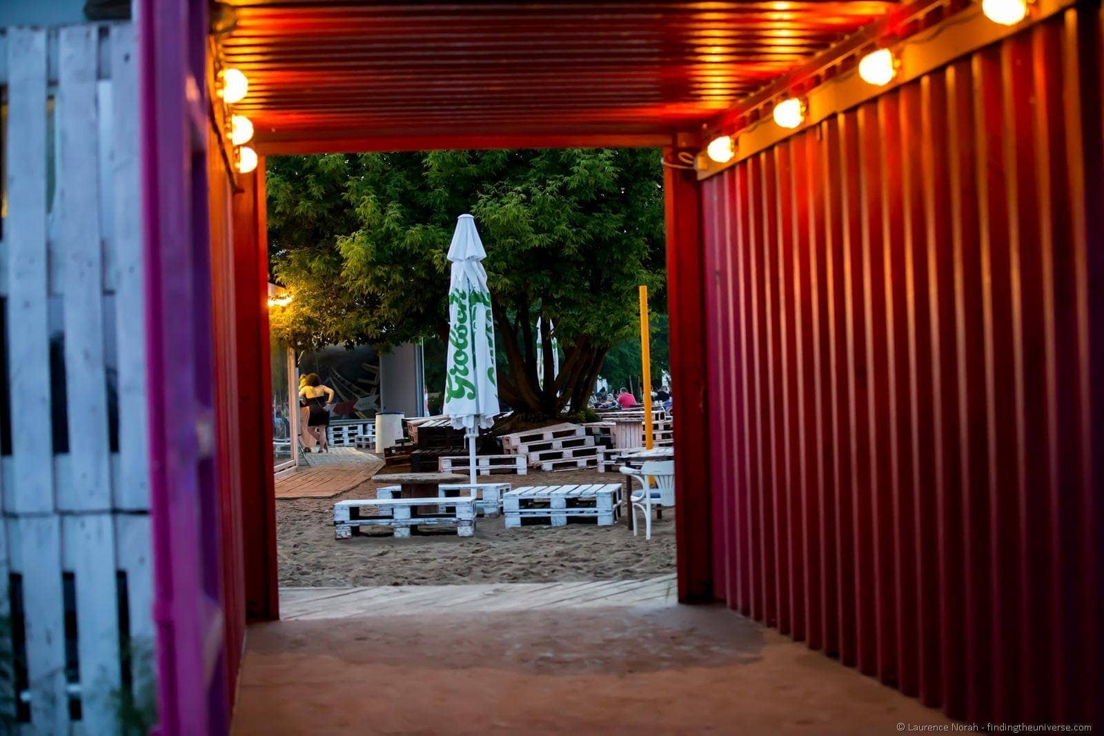 Poznan entrance to KontenerArt